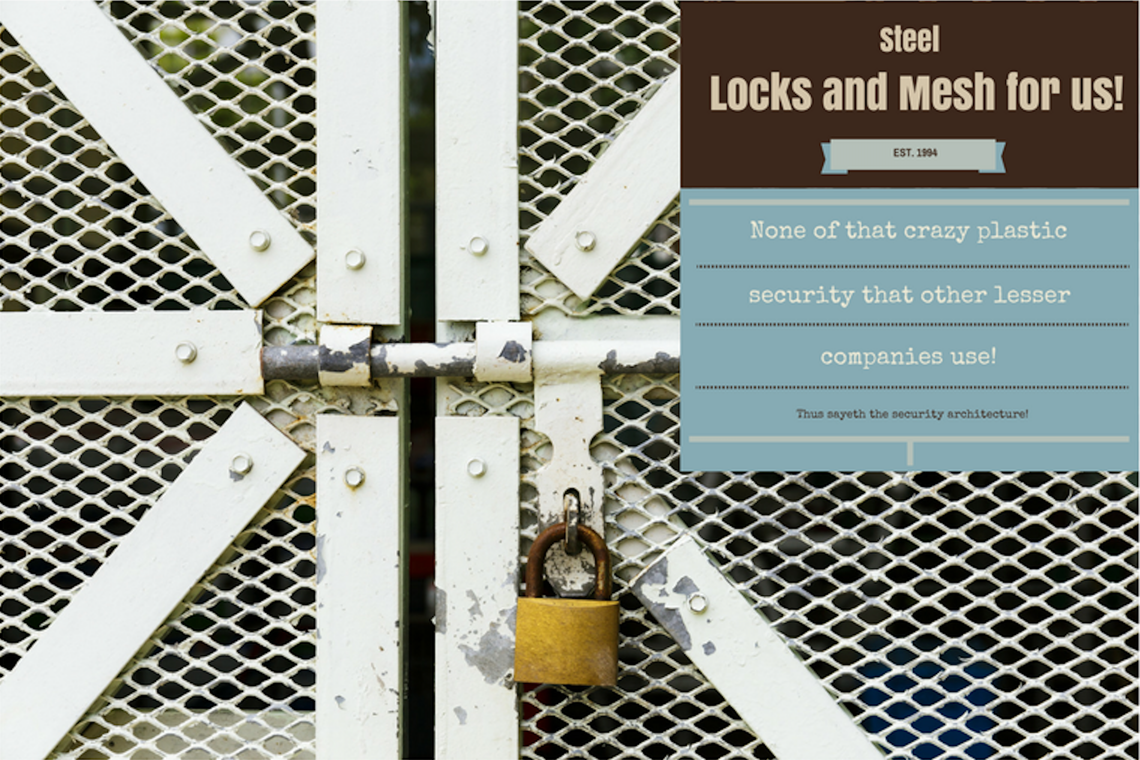 Security Architecture: Protecting you from miscommunications, one security principle at a time!