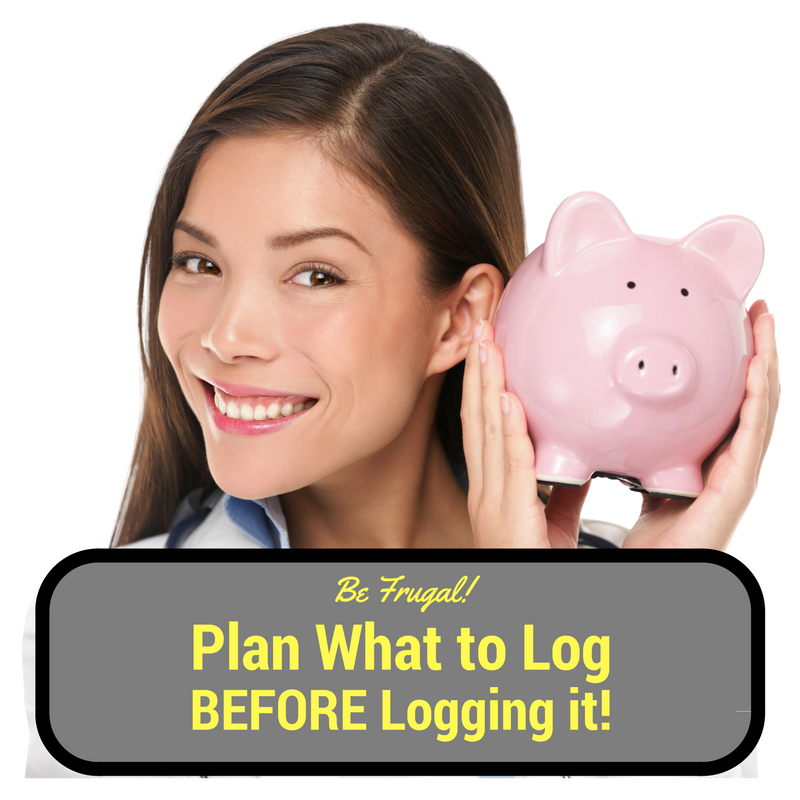 It's least expensive to decide what to log before coding. But it's never too late!