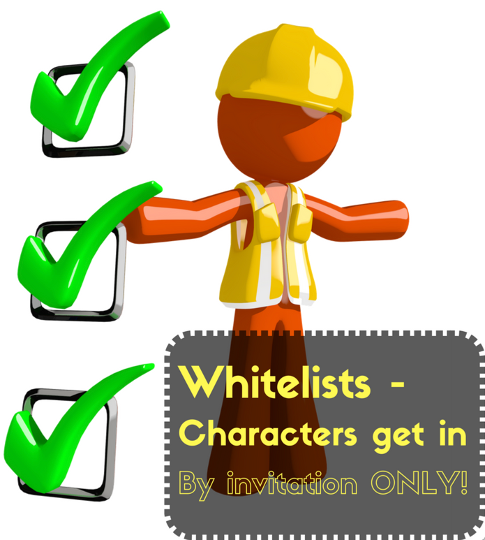 Use whitelists to completely control what characters get through your UI -- and into your application.